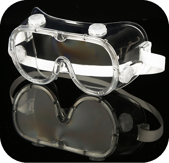 Wide Vision Safety Goggles Clear