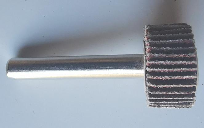 bridgeblue flap wheel 20106mm 80 grit