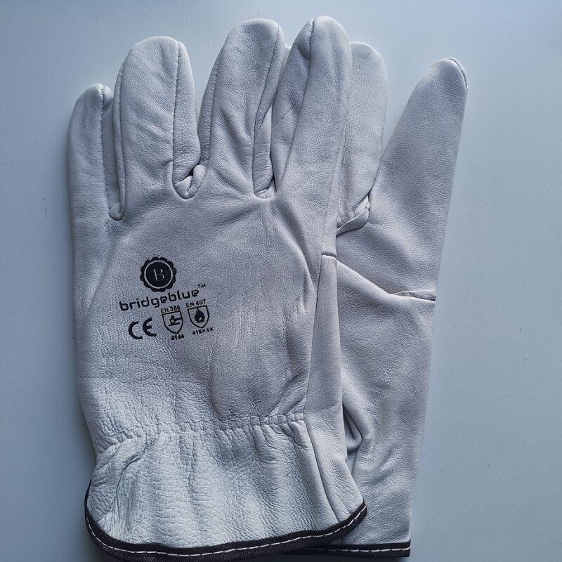bridgeblue rigger gloves white